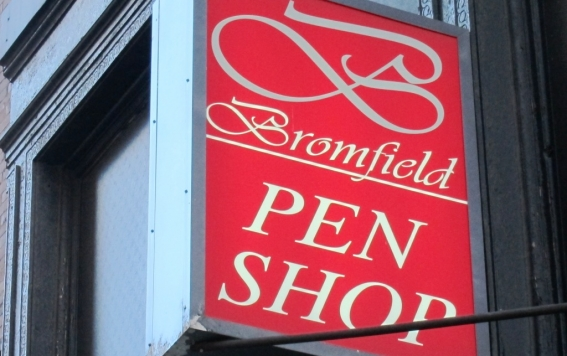 Visit Bromfield Pen Shop in Downtown Boston