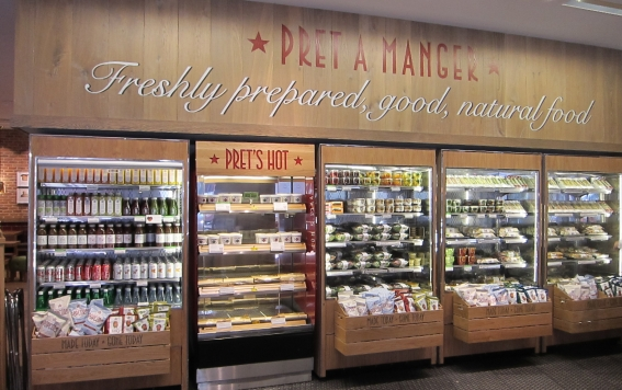 Dining Downtown Boston Pret A Manger 101 Arch Street