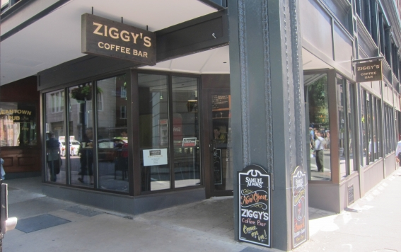 Dine at Ziggy's Coffee Bar in Downtown Boston