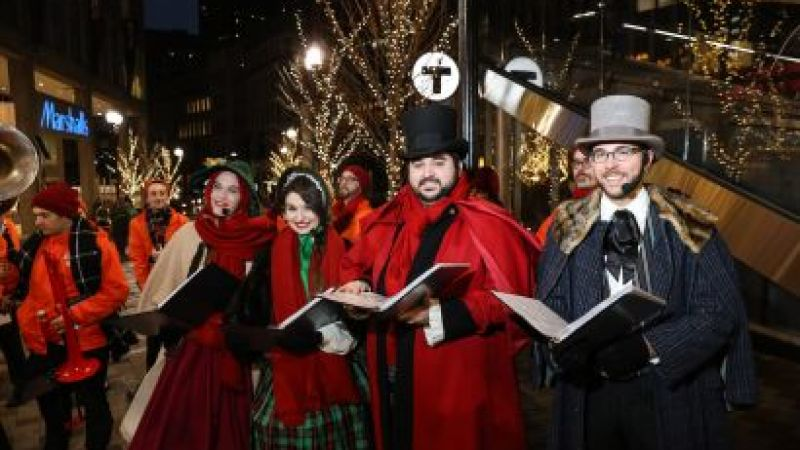 Downtown Boston BID Strolling Caroling Groups