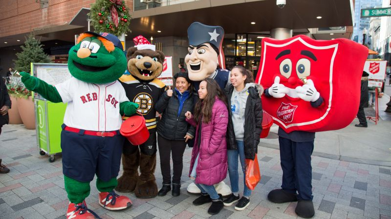 Red Kettle Mascot Day