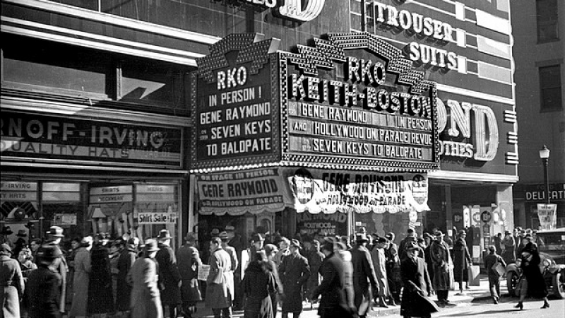 """Downtown Boston's Movie Palaces"" Lecture By Art Singer (Modern Theatre)"