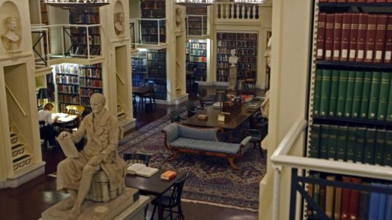 A Night with Literary Stars: Jhumpa Lahiri and Domenico Starnone at the Boston Athenaeum