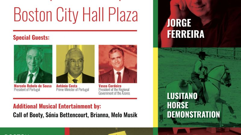 Boston Portuguese Festival June 10th (Day of Portugal) Celebration