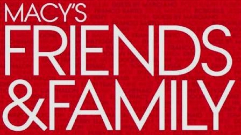 "Fall 2012 Macy's ""Friends & Family"" Sale"