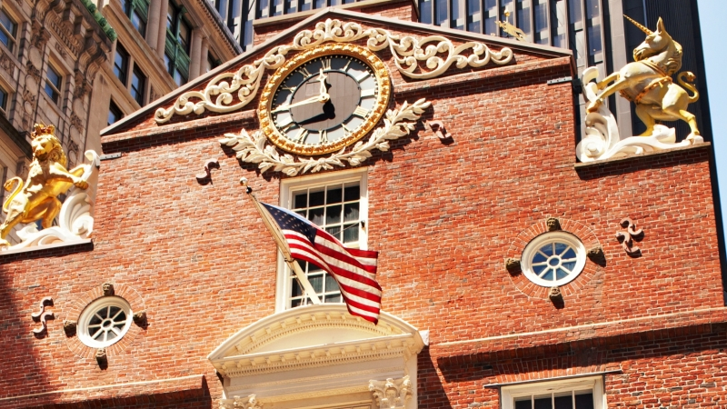 """Treasure Or Trouble?"" (Old State House)"
