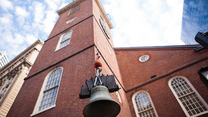Scavenger Hunt: Where The Boston Tea Party Began (Old South Meeting House)