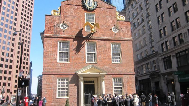 Through the Keyhole: Old State House