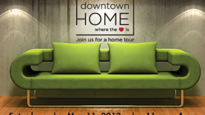 """Downtown: Home Where The Heart Is"" Self-Guided Home Tour"