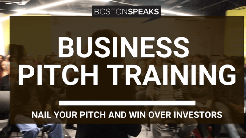 Business Pitch Training | Nail Your Pitch and Win Over Investors with Boston Speaks