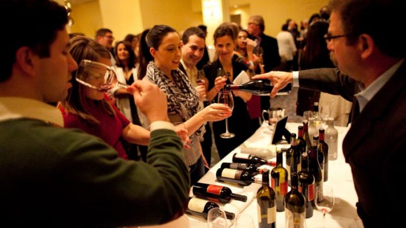 Boston Wine Festival at the Boston Harbor Hotel