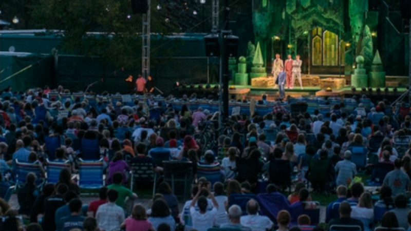 "Commonwealth Shakespeare Company's Free Shakespeare on the Common: ""Romeo & Juliet"""