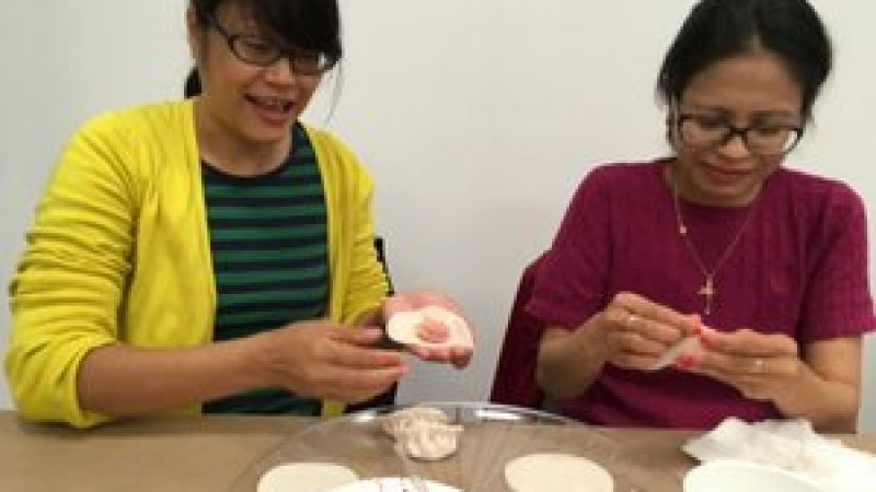 In the Kitchen: Dumplings at the Pao Arts Center