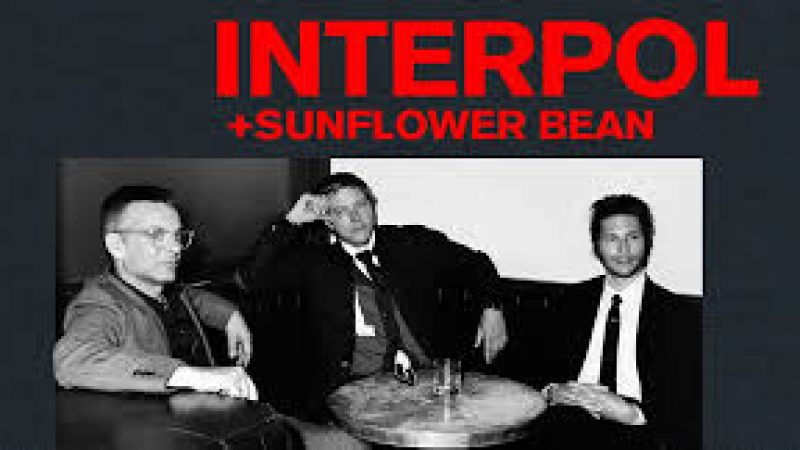 Interpol with Sunflower Bean at The Orpheum Theatre