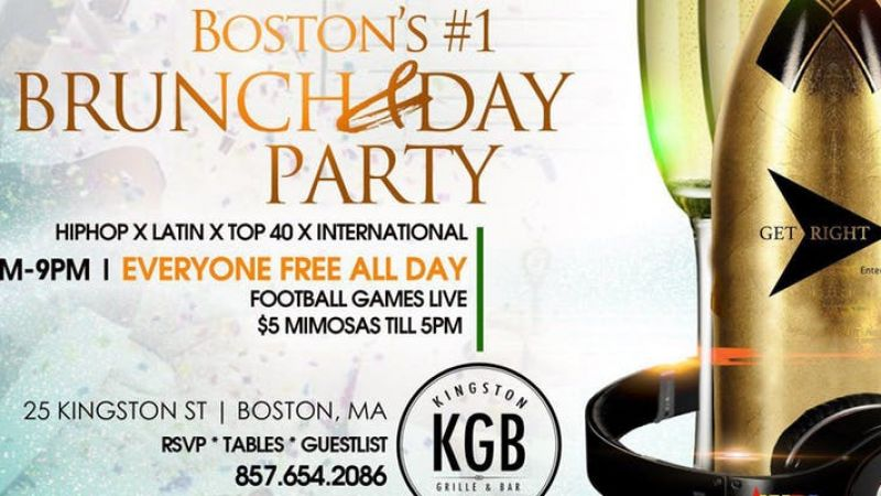 Champagne Sunday's at Kingston Grill & Bar
