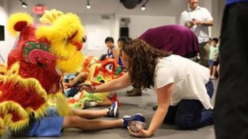 Lunar New Year Lion Dance Workshops at the Pao Arts Center