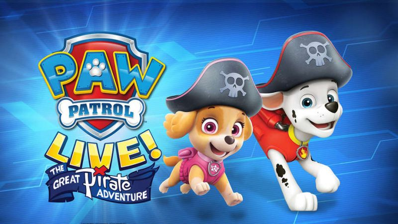 "Paw Patrol Live! ""The Great Pirate Adventure"" at the Wang Theatre"
