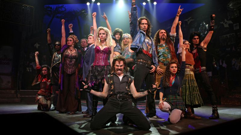 Rock of Ages at the Wang Theatre