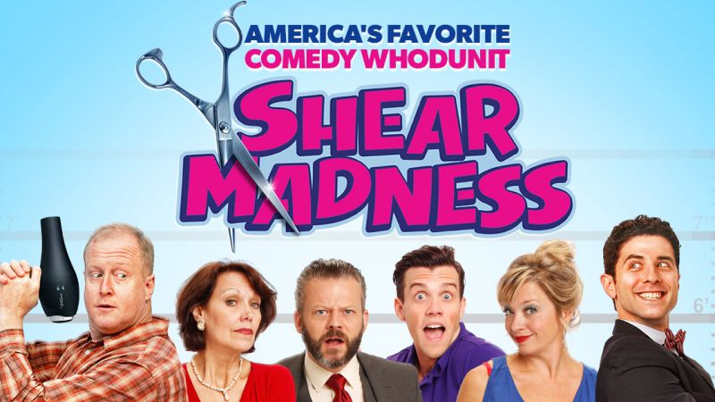 """Shear Madness"" At The Charles Playhouse"