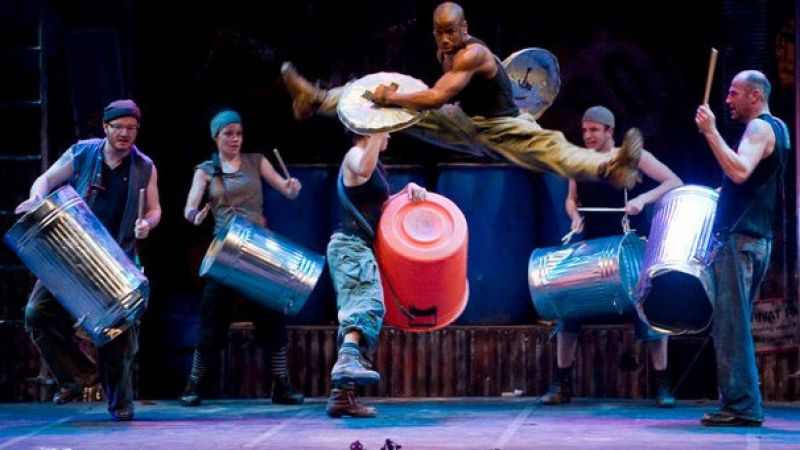 """Stomp"" at the Shubert Theatre"