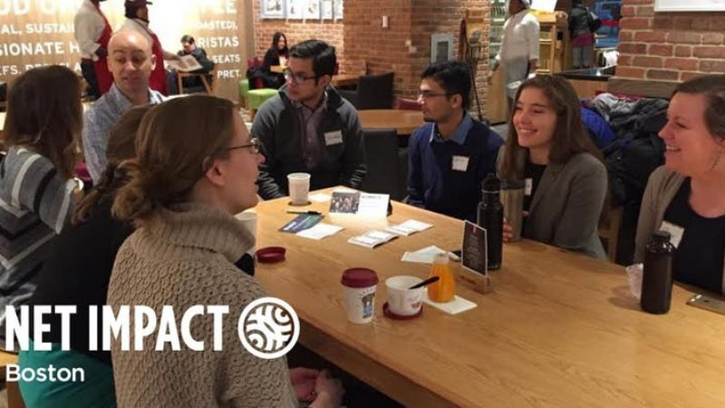 Boston Sustainability Breakfast at Pret A Manger