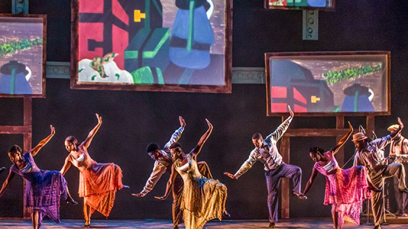 """The Migration:"" Reflections on Jacob Lawrence at The Cutler Majestic Theatre"