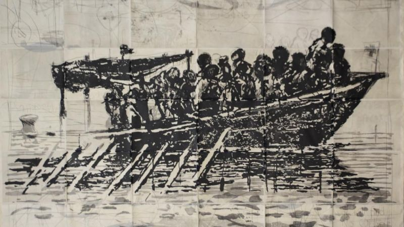 William Kentridge: Triumphs & Laments at the Emerson Media Arts Gallery