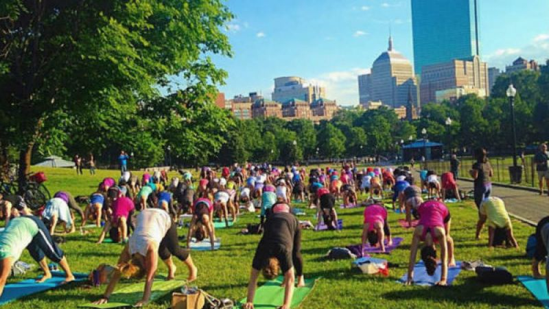 Free Summer Yoga on the Common