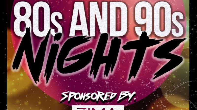 Coppersmith Presents 80's & 90's Night