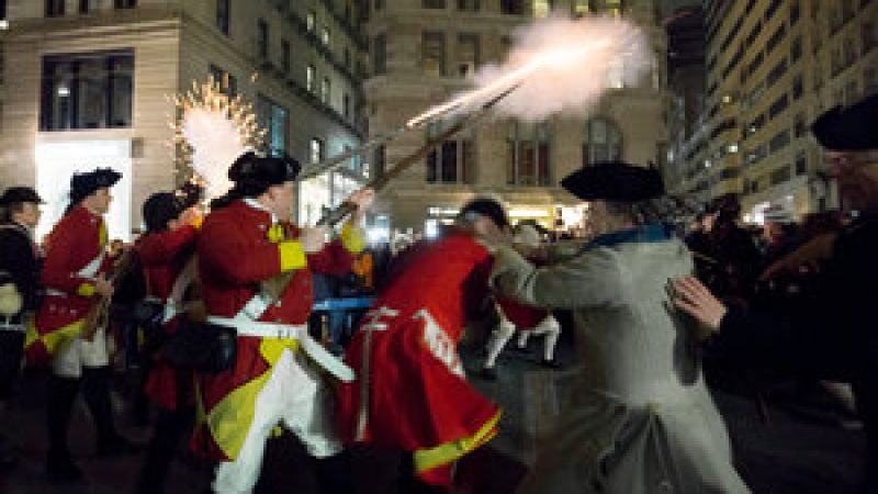 2020 Boston Massacre Reenactment