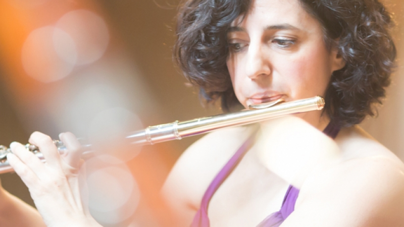 Chameleon Up Close: Flutist Deborah Boldin & Pianist Vivian Choi
