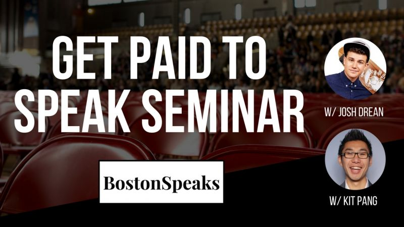Get Paid To Speak 4-Hour Seminar