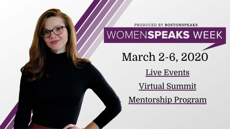 WomenSpeaks Week