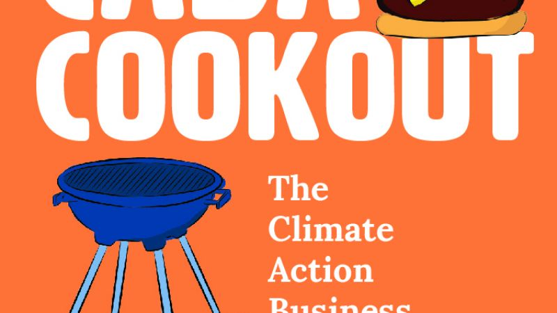 The Climate Action Business Association's Annual Cookout