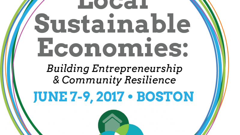 Local Sustainable Economies Conference