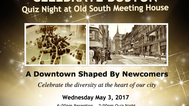 Celebrate Boston! Quiz Night at Old South Meeting House