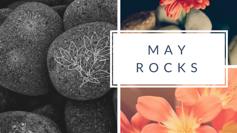 Make Your Space: May Rocks