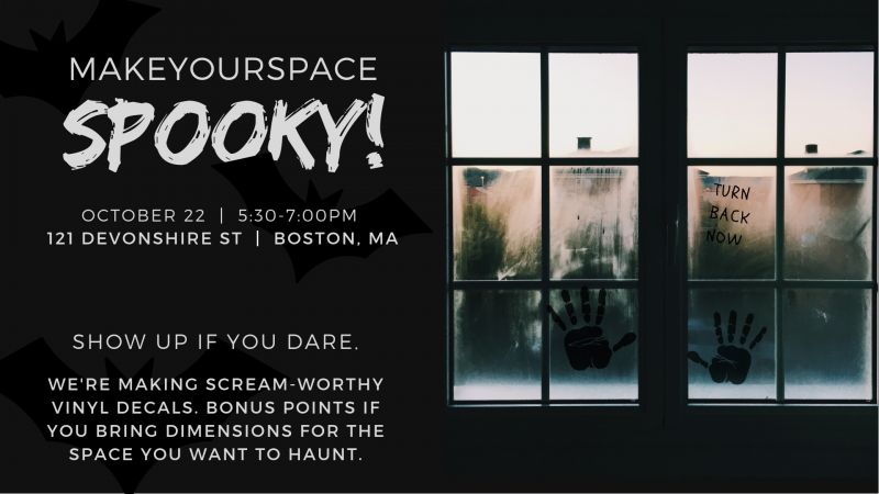 Make Your Space SPOOKY