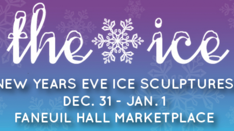 The ICE-NYE Ice Sculptures at Faneuil Hall
