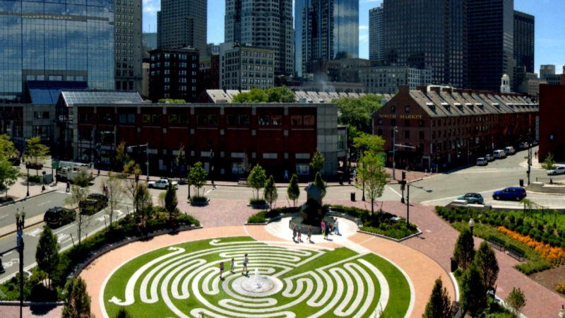 World Labyrinth Day on The Greenway