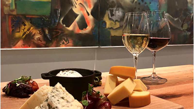 ArtWeek: The Art of Wine & Cheese with Gallery NAGA