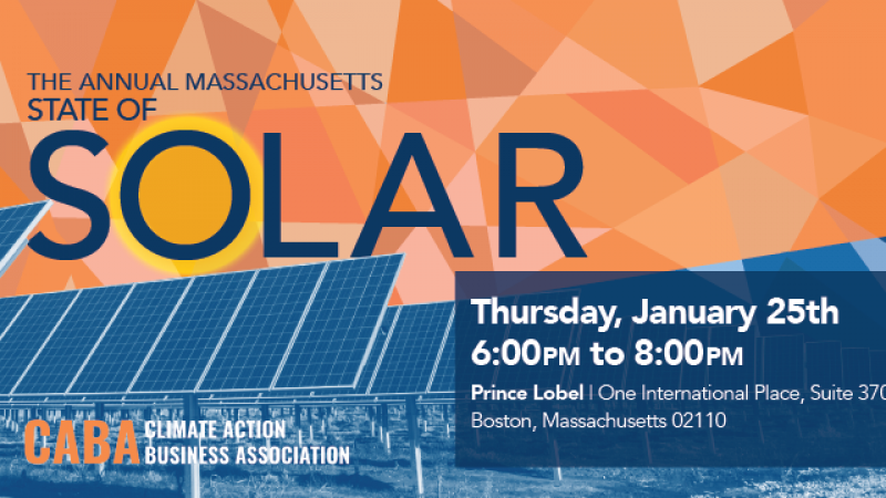 The Annual Massachusetts State of Solar