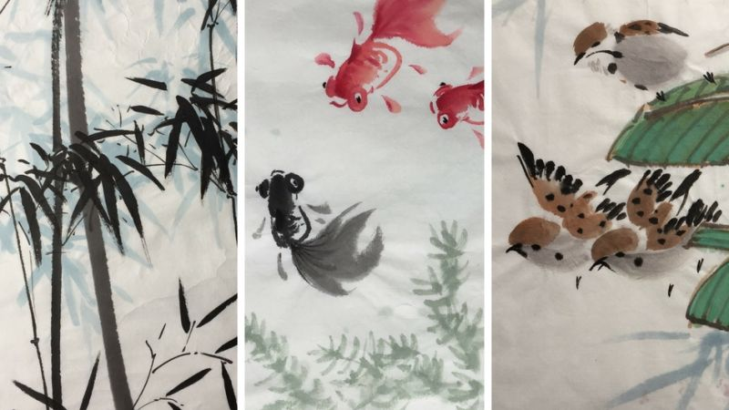 Chinese Brush Painting for Adults