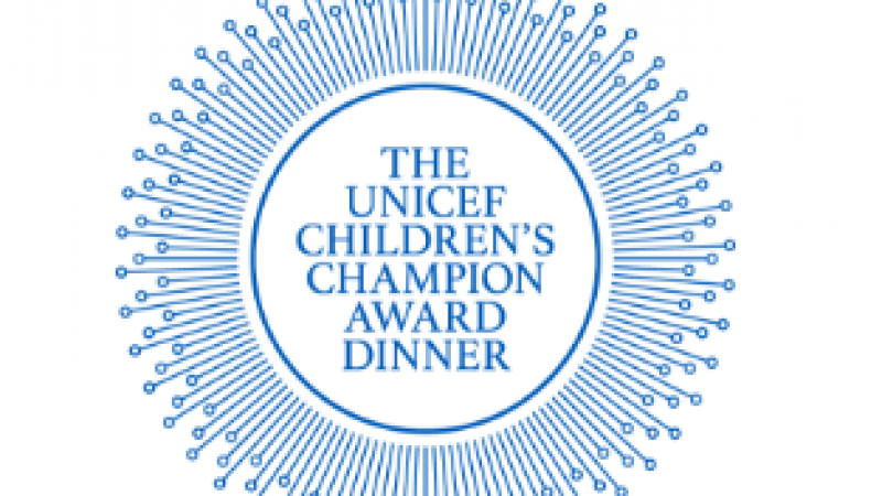 UNICEF Children's Champion Award Dinner