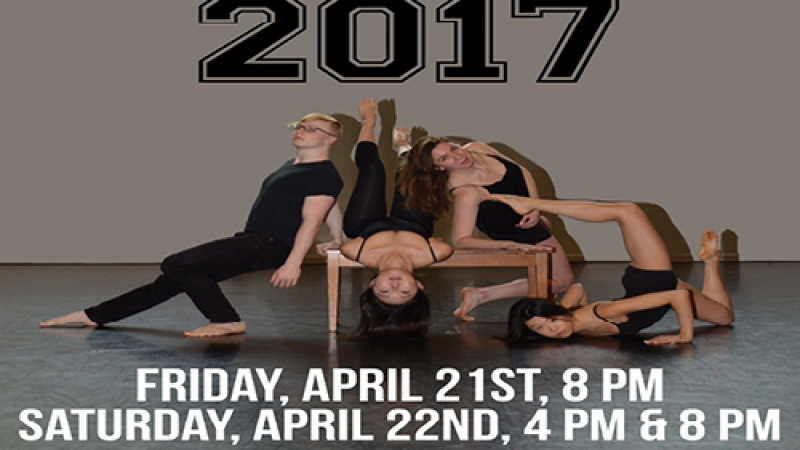 Boston University's Dance Theatre Group presents Visions 2017
