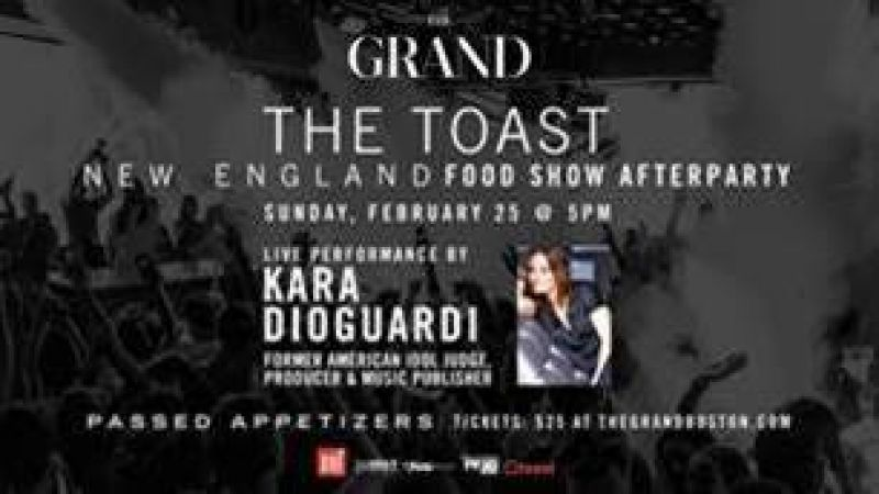 "The New England Food Show Hosts ""The Toast"""